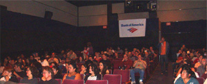 Latino Film Festival audience